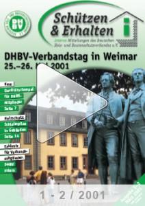Ausgabe 1/2 - 2001
