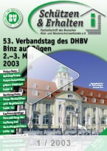 Ausgabe 1 - 2003