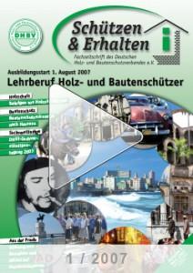 Ausgabe 1 - 2007