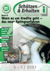 Ausgabe 4/5 - 2001