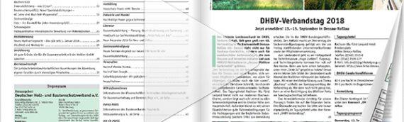 Schützen & Erhalten Ausgabe 01-2018