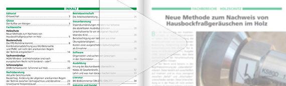 Schützen & Erhalten Ausgabe 03-2019